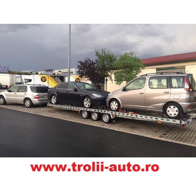 Inchiriez platforma auto transport doua masini