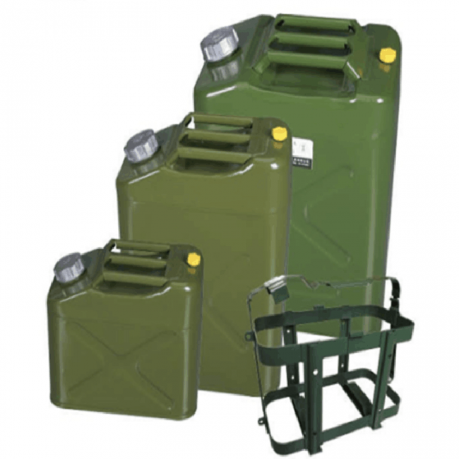 Canistra combustibil off-road din metal 20L