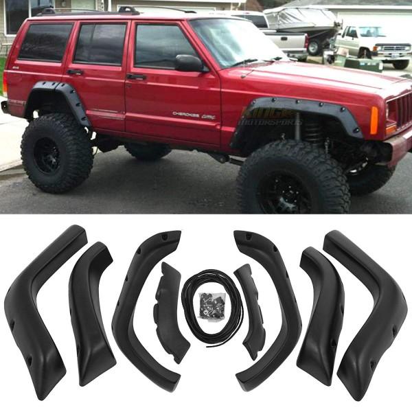 Overfendere /aparatori de noroi pentru Jeep Cherokee XJ 4DR 1984-2001 Bushwacker