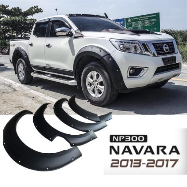 Overfendere aparatori de noroi NISSAN NAVARA  NP 300 / 2014-2017