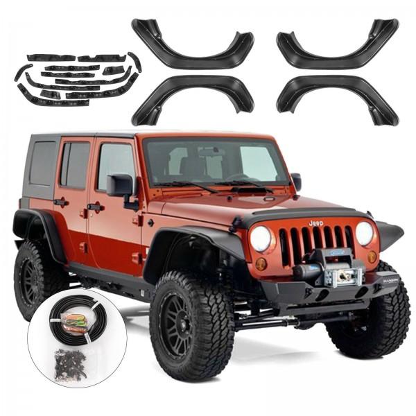 Overfendere Jeep Wrangler JK 2007-2017 cu semnalizare