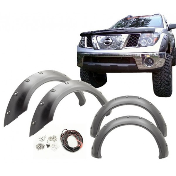 Overfendere Nissan Navara 2008-2012