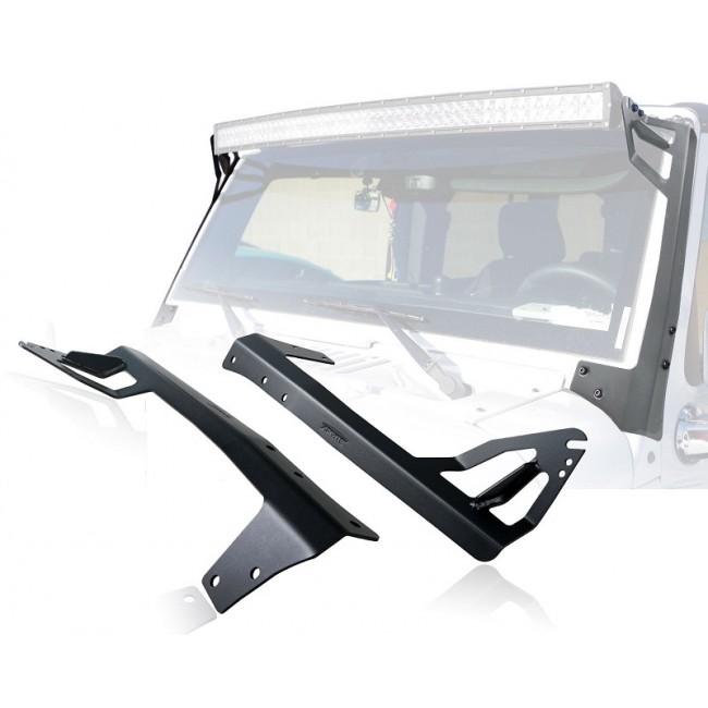 Suporti montaj proiectoare  led-bar pentru jeep Wrangler