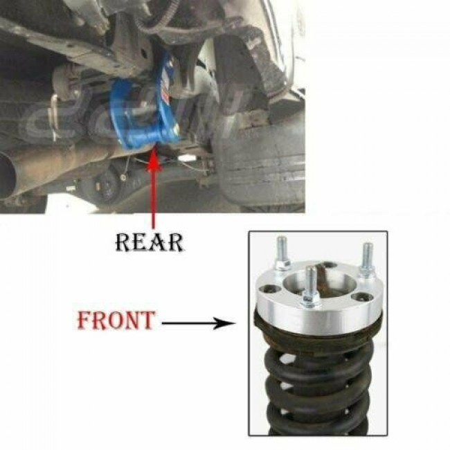 Suspensie /suspension lift Isuzu D-Max +50mm (2inch) 2012+