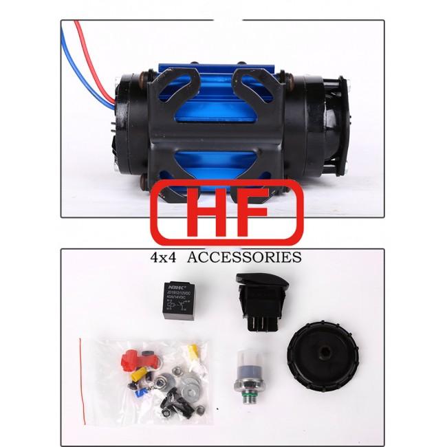 Compresor aer High Output 12V pentru diferential blocabil