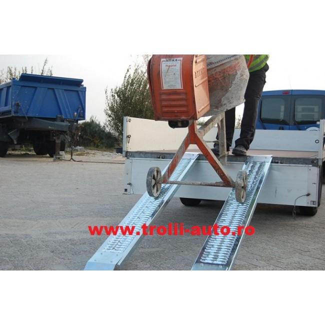 Rampe de remorca/platforma auto