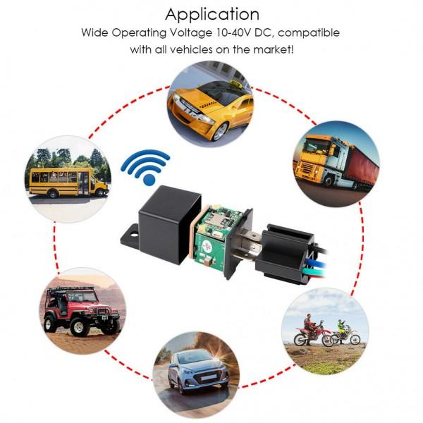 Gps tracker auto tip releu GPS Tracker Auto LK720 cu functie on/off