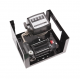 Pompa transfer motorina 80l/min 12v cu contor mecanic furtun si pistol