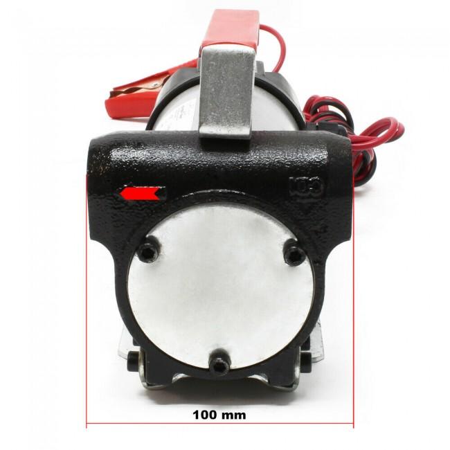 Pompa transfer combustibil 12v cu pistol si furtun 40l/minut