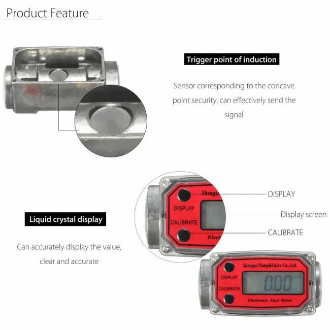 Contor digital CDI pompa transfer motorina