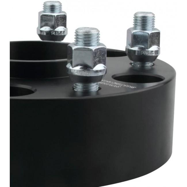 Flanse distantiere Opel Frontera 30mm 6x139,7 M12x1,5 CB 108 cu inel de centare culoare negru