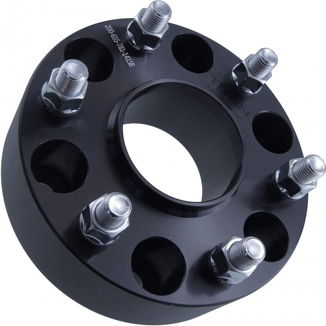 Flanse distantiere Mitsubishi 38mm 6x139,7 M12x1,5 CB 67,1 cu inel de centare  culoare negru