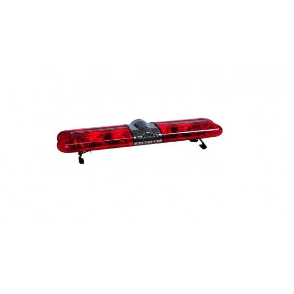 Rampa girofar rosu cu rotative