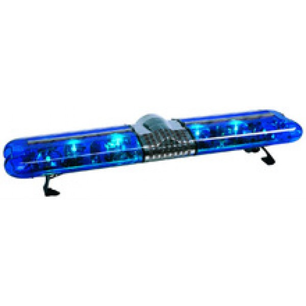 Rampa girofar albastru cu rotative halogen