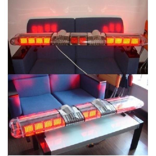 Rampa girofar galben 20 module led
