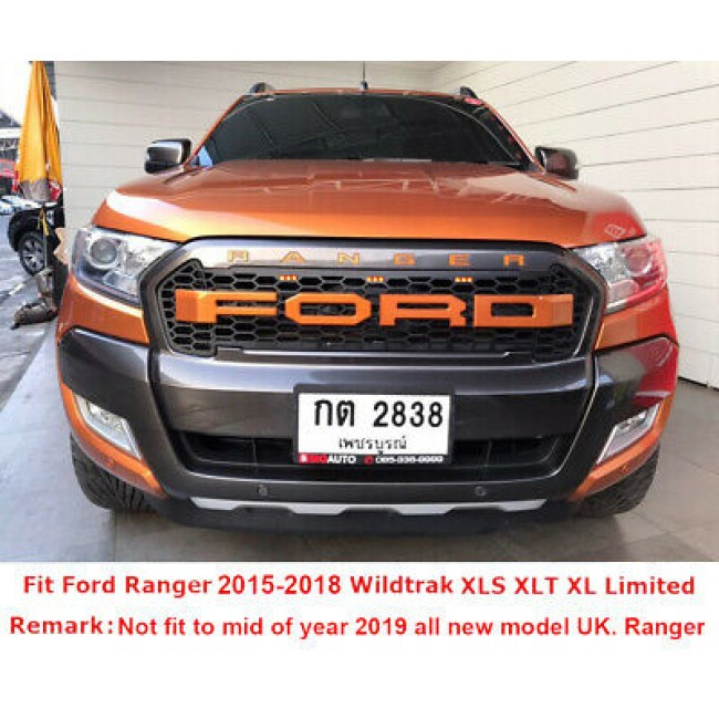 Grila fata cu 3 led Ford Ranger  2015+