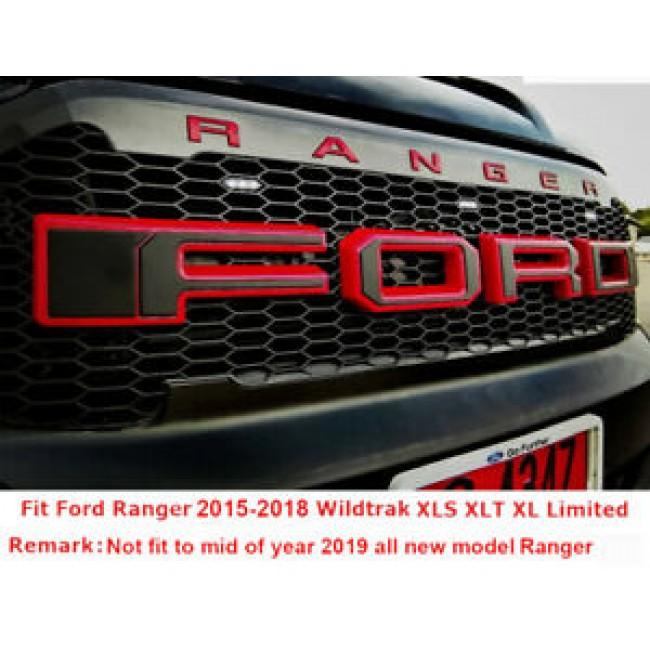 Grila fata cu led Ford Ranger 2015+
