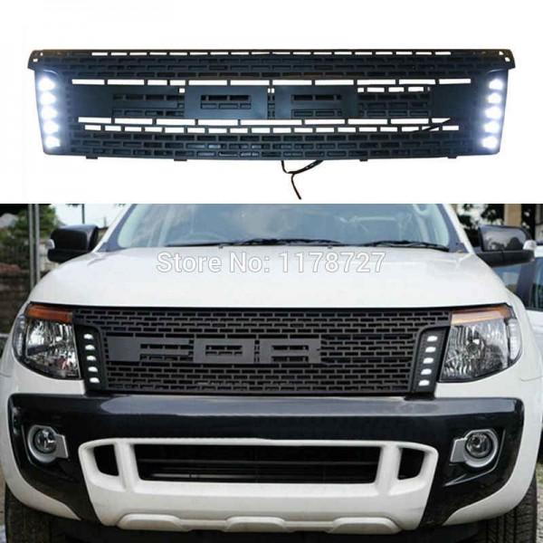 Grila fata cu lumina Ford Ranger 2012-2014