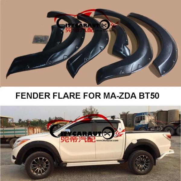 Overfendere aparatori de noroi  MAZDA BT50 2012