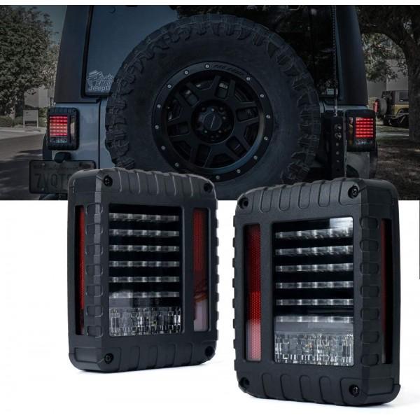 Stopuri spate cu led pentru Jeep Jeep Wrangler JK JKU 2007-2018