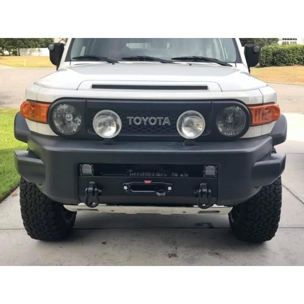 Suport placa troliu dedicat Toyota Land Cruiser Fj