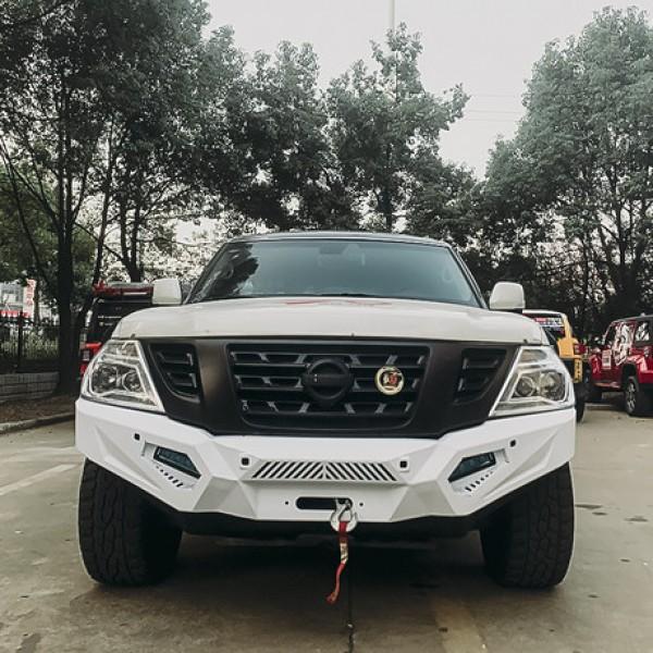Suport placa dedicata  troliu Nissan Patrol Y62