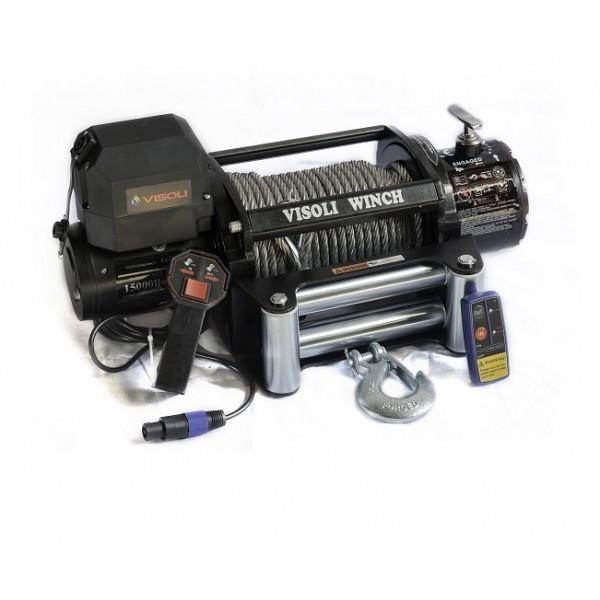 Troliu auto electric 13500lbs/6130kg serie LP Visoli