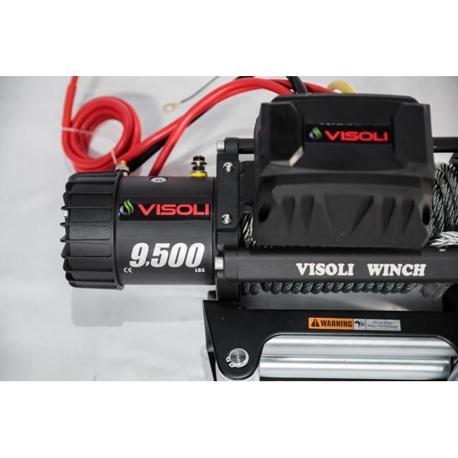 Troliu auto electric VIsoli  9500lbs /4315kg serie HP